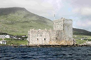 Clan MacNeil - Kisimul Castle located in Castlebay, Barra is the current seat of the Chief of Clan MacNeil.