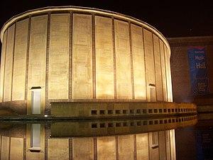 Kleinhans Music Hall - Kleinhans Music Hall at night
