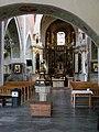 Kościół, ob. par. pw. św. Jana Ewangelisty, 2 poł. XI, XIII-XVI-XVIII wnętrze (3).JPG