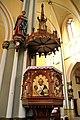 Kościół św. Jana Chrzciciela w Raciborzu - ambona 1.JPG