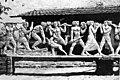 Kocsis András domborműve, amely később a Nemzeti Sportcsarnok (ma Gerevich Aladár Nemzeti Sportcsarnok) főbájarata fölé került. Fortepan 101189.jpg