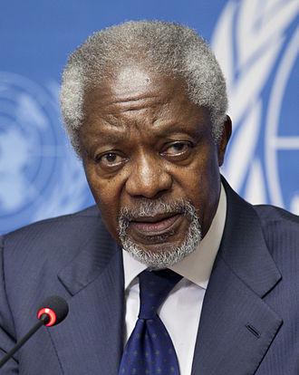 Kofi Annan - Image: Kofi Annan 2012 (cropped)