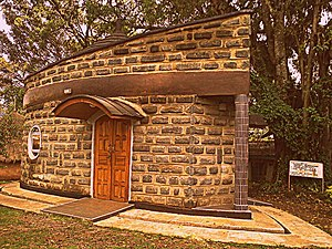 Kalenjin people - Koitalel Arap Samoei Mausoleum and Museum in Nandi Hills, Kenya