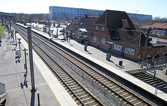Kokkedal station - Kokkedal Station in 2002