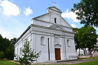 Kolainiai Village in Samogitia, Lithuania