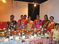 Koli Community in 'Koli Fish Stall' at Worli Celebrations-2013..JPG
