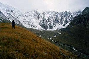 Kolka Glacier - Kolka Glacier in 2001.