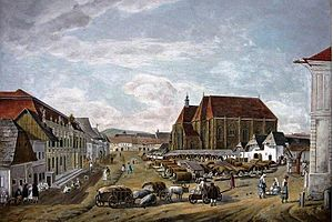 St. Michael's Church, Cluj-Napoca - In 1840