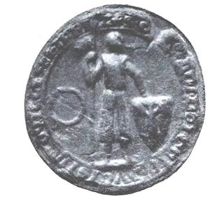 Konrad II of Masovia - Konrad II's Seal, ca. 1285