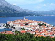 Grad Korčula.