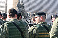 Kosovo Armed Forces & Statue Of Skanderbeg.jpg