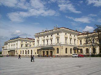 Kraków Główny railway station - Image: Kraków Główny (budynek dworca)