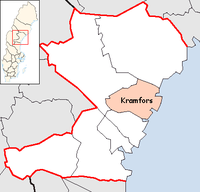 Kramfors Municipality in Västernorrland County.png