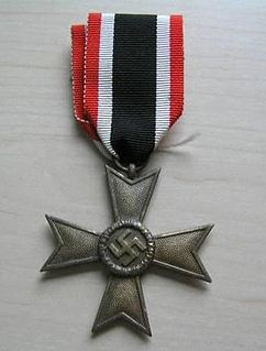 War Merit Cross decoration of Nazi Germany during the Second World War