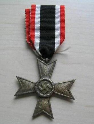 War Merit Cross - War Merit Cross (2nd Class - without swords)