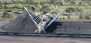 Coal homogenization - Krupp bridge reclaimer