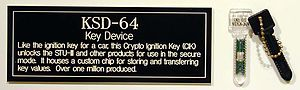 STU-III - KSD-64A Crypto Ignition Key