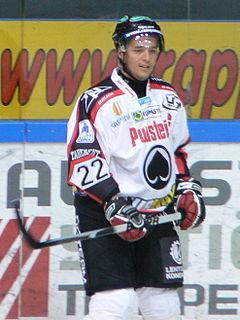 Matti Kuparinen Finnish ice hockey player