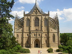 Saint Barbara Cathedral in Kutná Hora