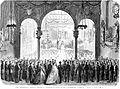 L'Illustration 1862 gravure Fête littéraire et musicale donnée en l'honneur du poète Vondel à Ruremonde (Pays-Bas).jpg