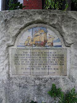 Lcc tablet in king edward vii memorial park (close)