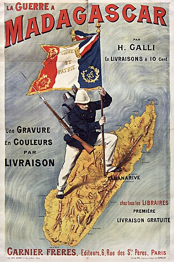 A French poster about the Franco-Hova War LaGuerreAMadagascar.jpg