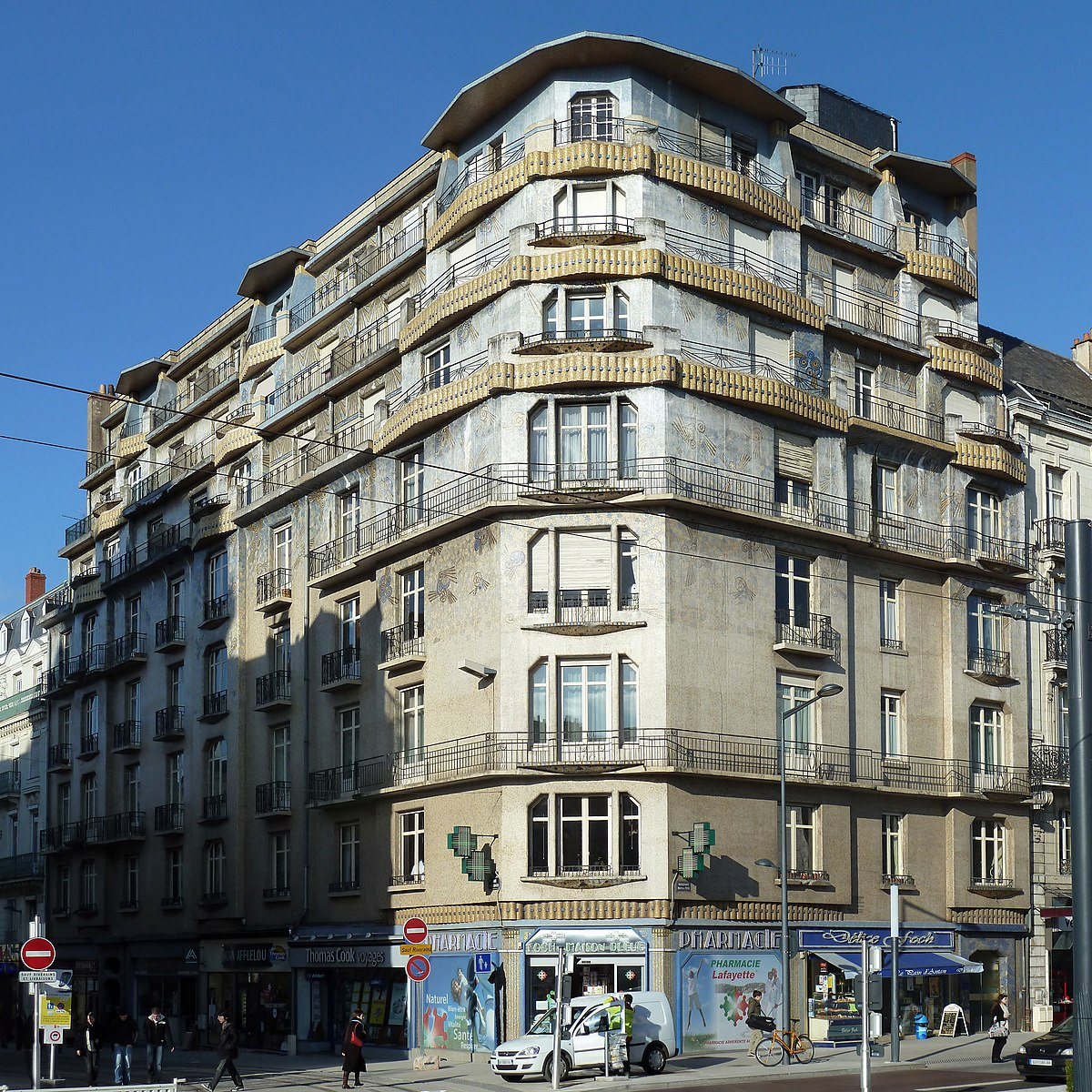 Maison bleue angers wikip dia for Decoration maison wikipedia