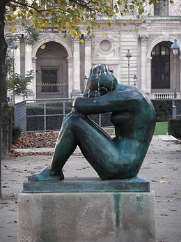 La Nuit by Aristide Maillol, Paris November 2011 001.jpg