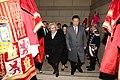 La alcaldesa entrega la Llave de Madrid al presidente chino en su visita al Ayuntamiento 04.jpg