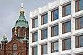 La cathédrale Uspenski et limmeuble dAalto (Helsinki) (2767480985).jpg