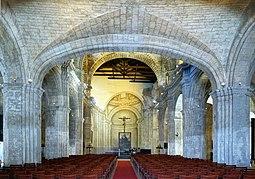 La havane couvent san francisco de assis nef.JPG