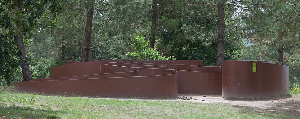 Labirinto no Parque arqueolóxico de Campo Lameiro CL01