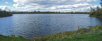 Leamy Lake - looking west