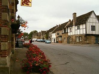 History of Lacock - Lacock high street