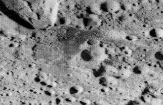 Lacus Luxuriae - Oblique Lunar Orbiter 2 image