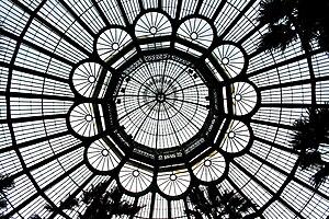 Laeken - Laken, the Royal Greenhouses of Balat (1874-1890).