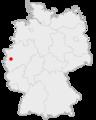 Lage der Stadt Kaarst in Deutschland.png