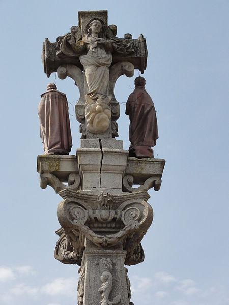 Lagney (Meurthe-et-M.) croix sculpté, verso