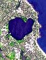 Lake Pupuke - satellite photo.jpg