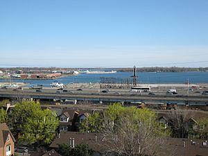 Lake freighter Mississagi in the Eastern Gap -e.jpg