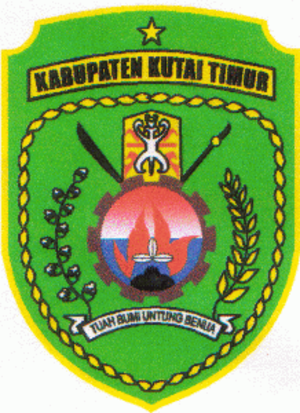 East Kutai Regency - Image: Lambang Kabupaten Kutai Timur