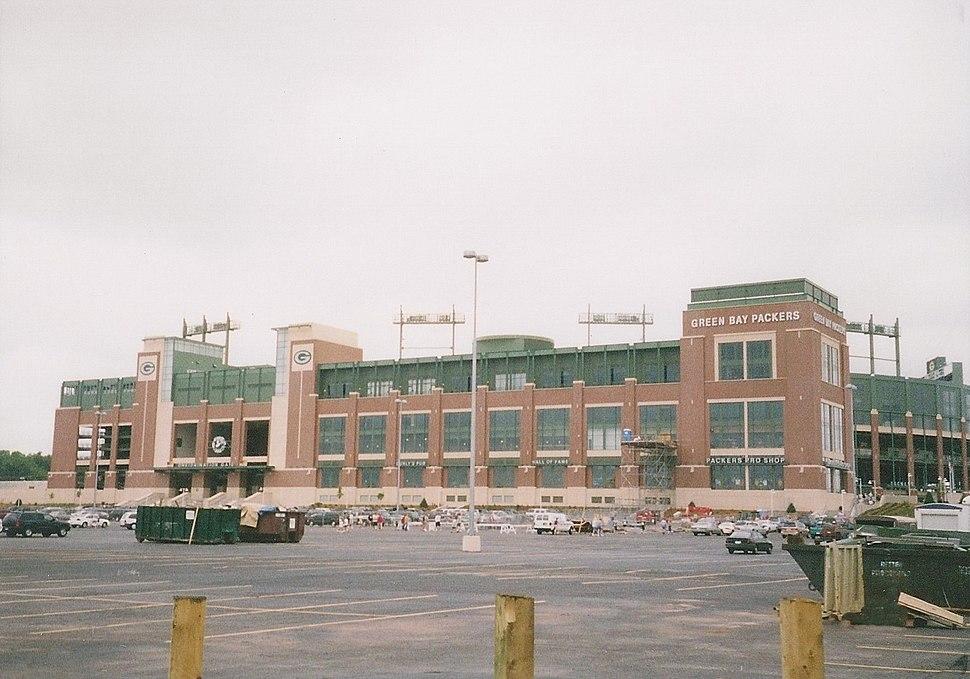 Lambeau Field August 2003