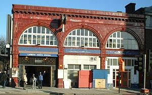 Lambeth North tube station - Image: Lambethnorth