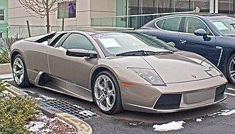 Lamborghini Murciélago - Lamborghini Murcielago coupé