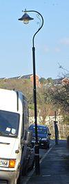 Lanterna kolono en Freshfield Place, la Parko de Queen, Brajtono (NHLE-Kodo 1380507).JPG