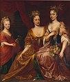 Lancelot Volders - Lancelot Volders - Marie Louise of Hesse-Kassel with her sisters-in-law.jpg
