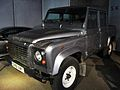 Land Rover Defender Double Cab pick-up (Skyfall) front-left-2 National Motor Museum, Beaulieu.jpg