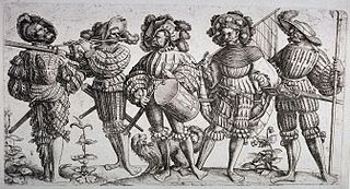Mercenary footsoldiers in 16th century Europe