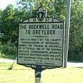 Lanesborough - Rockwell Road Sign.JPG