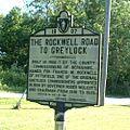 Lanesborough - Rockwell Road Sign.JPG
